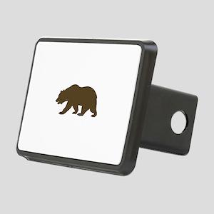 California Bear Rectangular Hitch Cover