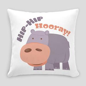 Hip Hip Hooray Everyday Pillow