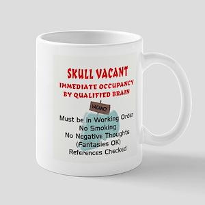 Vacant Skull Mug