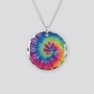 Rainbow Tie Dye Necklace