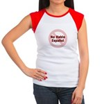 No Hablo Espanol - Red Circle Women's Cap Sleeve T