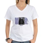 G. K. Chesterton Women's V-Neck T-Shirt