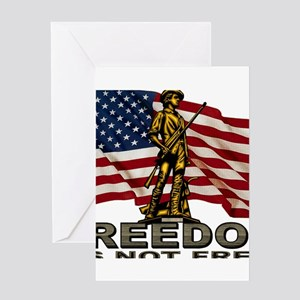 FREEDOM Greeting Cards