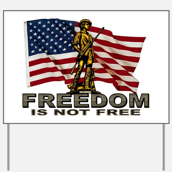 FREEDOM.png Yard Sign