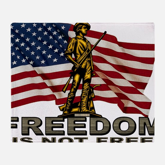FREEDOM.png Throw Blanket