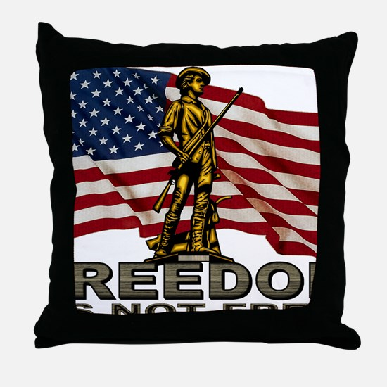 FREEDOM.png Throw Pillow