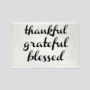 thankful grateful blessed Magnets