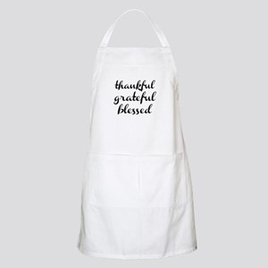 thankful grateful blessed Apron