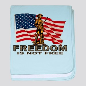 FREEDOM baby blanket