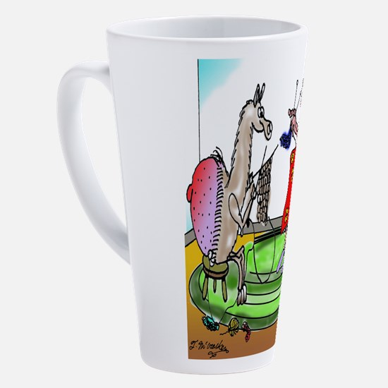 Cute Funny afghan 17 oz Latte Mug
