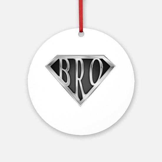 SuperBro-Metal Ornament (Round)