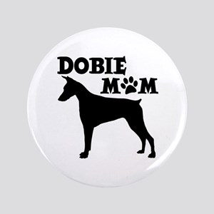 "DOBIE MOM 3.5"" Button"
