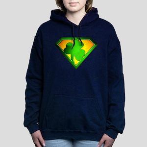 spr_shamrock Women's Hooded Sweatshirt
