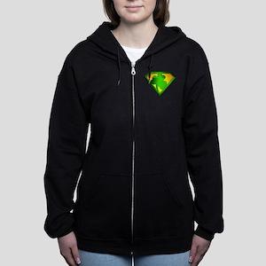 spr_shamrock Women's Zip Hoodie