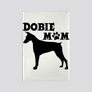 DOBIE MOM Rectangle Magnet