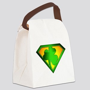 spr_shamrock Canvas Lunch Bag