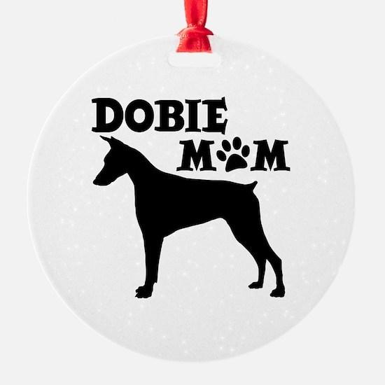 DOBIE MOM Ornament