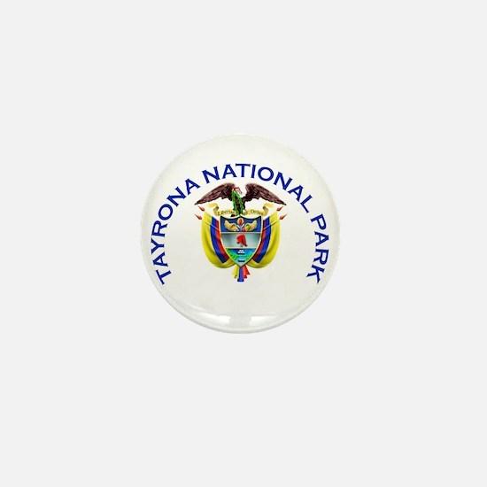 Tayrona National Park Mini Button