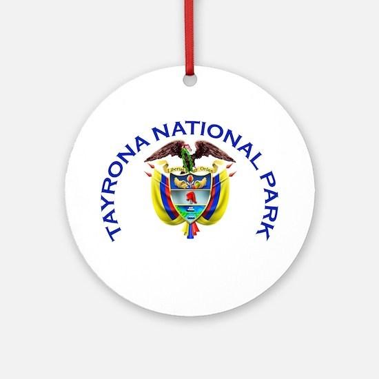 Tayrona National Park Ornament (Round)