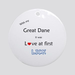 Dane Lick Ornament (Round)