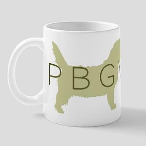 PBGV Dog Sage Mug
