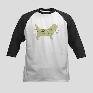 PBGV Dog Sage  Kids Baseball Jersey