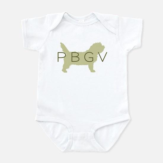 PBGV Dog Sage Infant Bodysuit