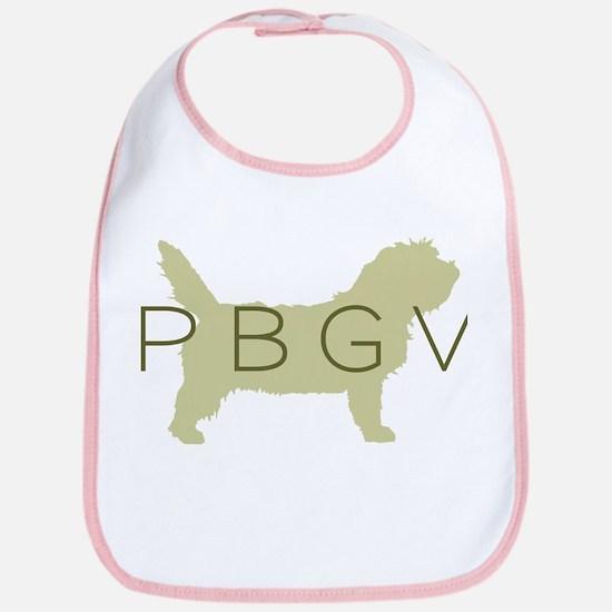 PBGV Dog Sage Bib