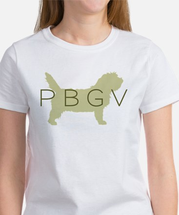 PBGV Dog Sage Women's T-Shirt