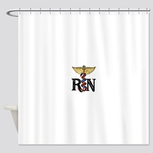 Caduceus_rn1 Shower Curtain