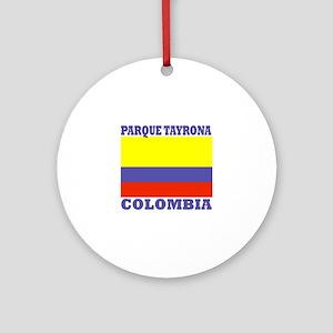 Parque Tayrona Ornament (Round)