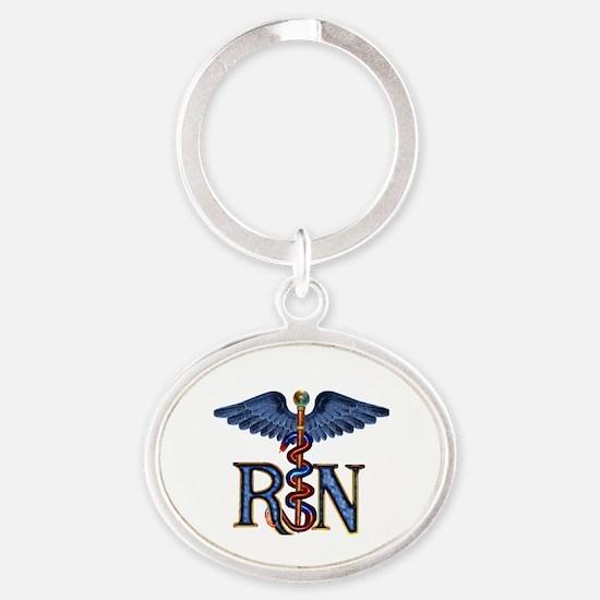 RN Caduceus Keychains