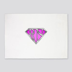 spr_rn3_pnk 5'x7'Area Rug