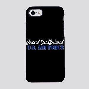 Proud Girlfriend USAF iPhone 8/7 Tough Case