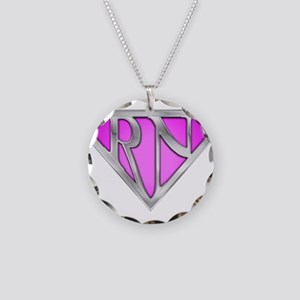 spr_rn3_pnk Necklace Circle Charm
