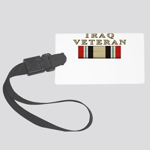 iraqmnf_3 Large Luggage Tag
