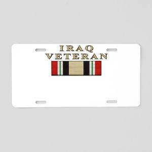 iraqmnf_3 Aluminum License Plate
