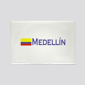 Medellin, Colombia Rectangle Magnet