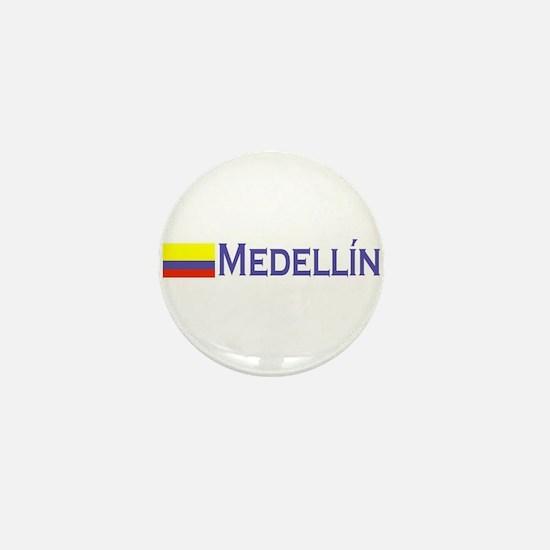 Medellin, Colombia Mini Button