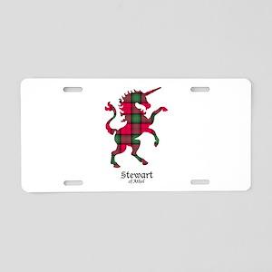 Unicorn-StewartAthol Aluminum License Plate