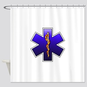 star_of_life Shower Curtain