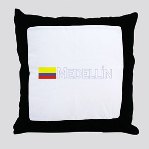 Medellin, Colombia Throw Pillow