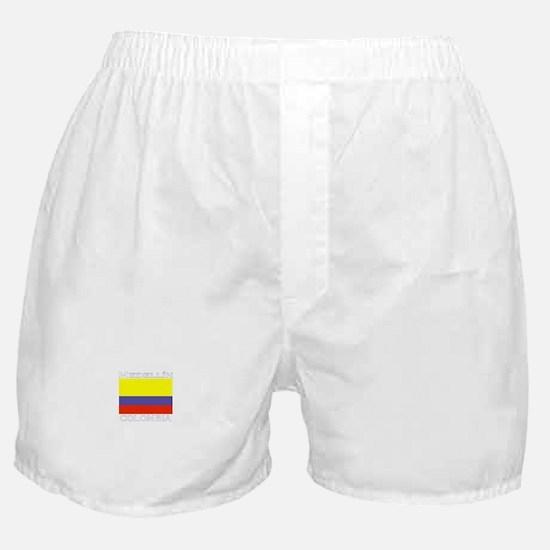 Medellin, Colombia Boxer Shorts