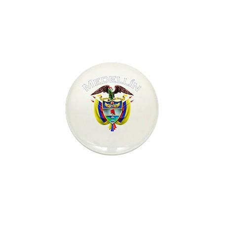 Medellin, Colombia Mini Button (10 pack)