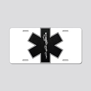 emt_bw Aluminum License Plate