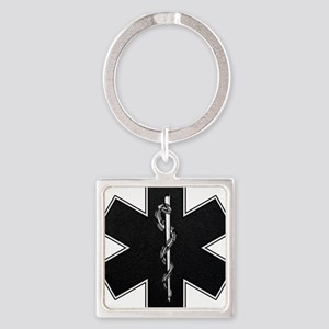 Star of Life(BW) Keychains