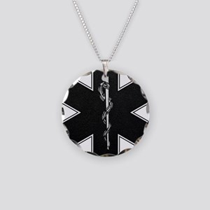 emt_bw Necklace Circle Charm