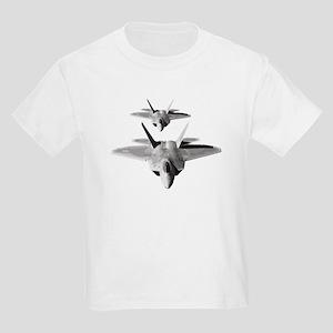 Two F-22 Raptors in Flight T-Shirt