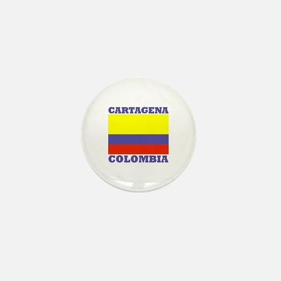 Cartagena, Colombia Mini Button