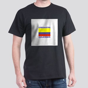 Cartagena, Colombia Dark T-Shirt